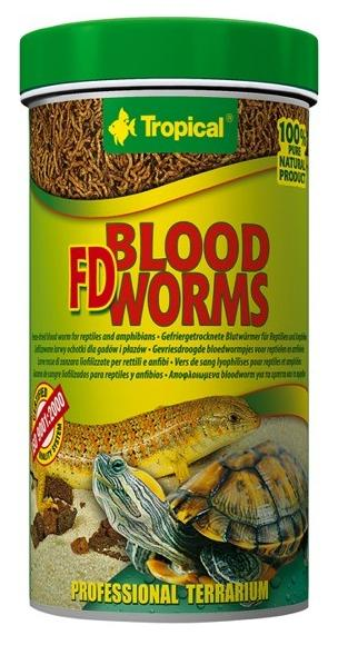 TROPICAL FD Blood Worms 250ml