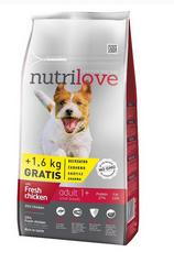 Nutrilove Dog Adult Small 8+1,6kg