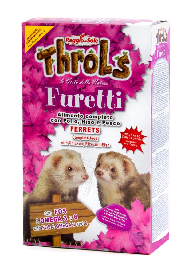 THROLS FURETTI fretka 750g