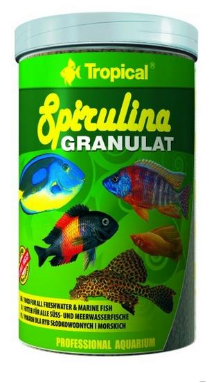 TROPICAL Spirulina granulát 250ml
