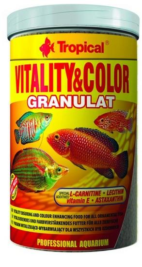 TROPICAL Vitality Color granulát 250ml