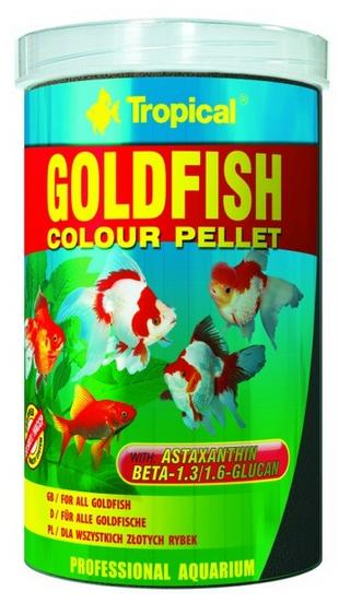 TROPICAL Goldfish Color pellet 100ml