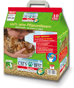 Cat´s Best ÖKO PLUS 10l, 4,5kg