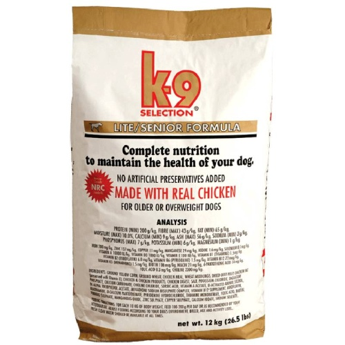 K-9 Selection Lite Formula 20 kg