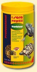 Granulované krmivo pro býložravé reptilie suchozemské želvy